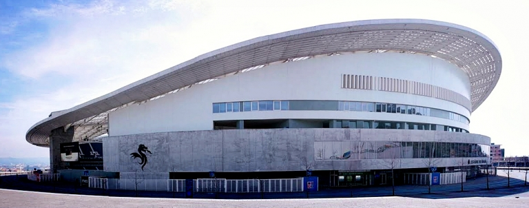 Dragon Stadium Porto built in 2004