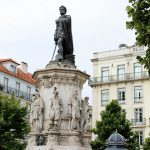 Free Walking Tour Lisboa in Praça Luis de Camões